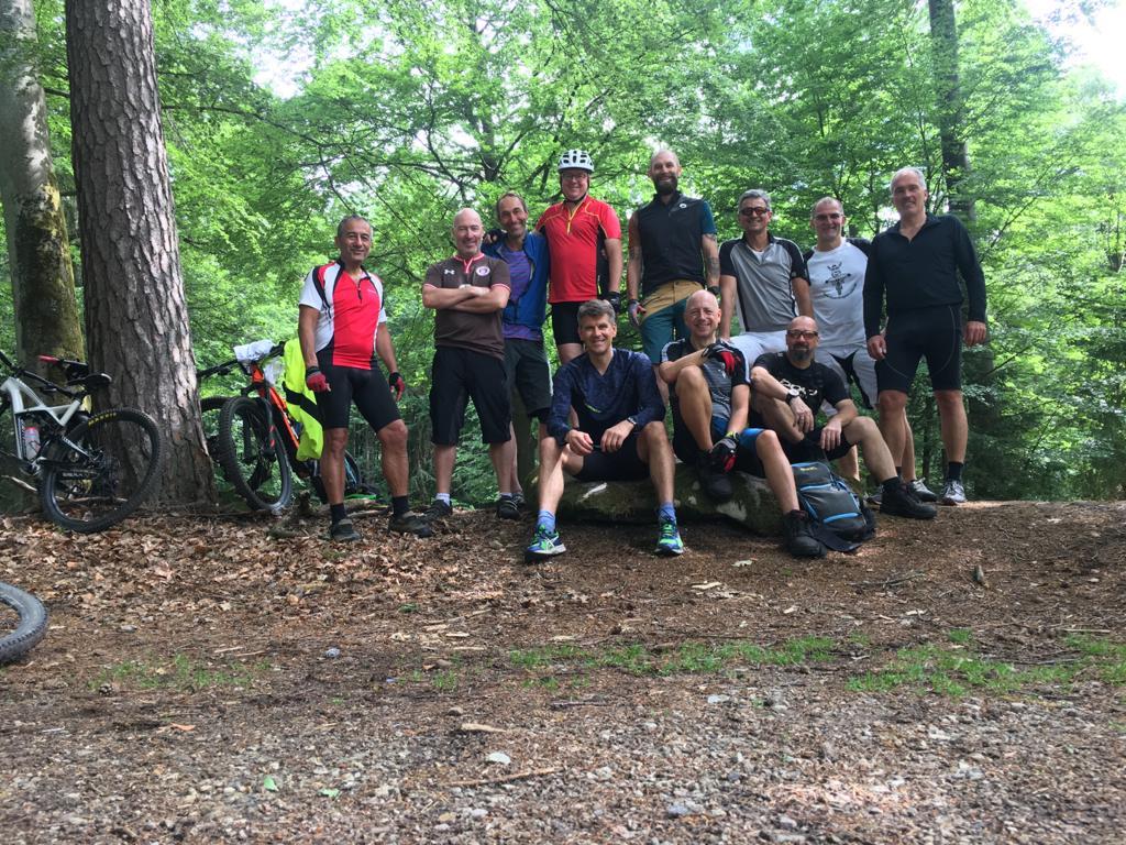Mümlingtalradler aus ganz Deutschland 2 Tage im Odenwald unterwegs